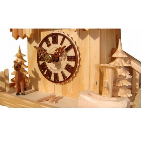 148 Natural Colour Cuckoo Clock