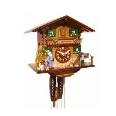 4223 Heidis Chalet Clock