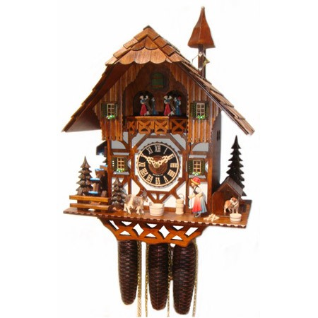 hones cuckoo clock instructions