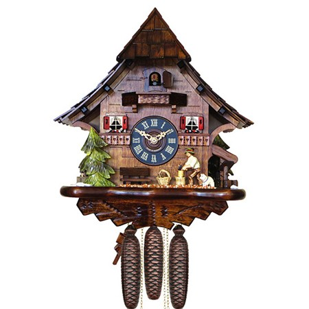 setting cuckoo clock instructions