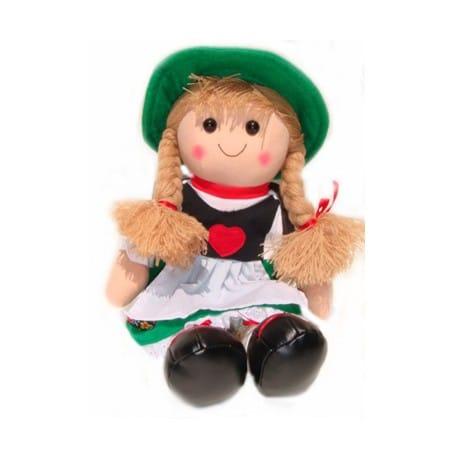 German Girl Plush Doll 21450G