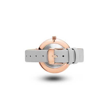 Mockberg Rose Gold Tone With Grey Strap - ALICE