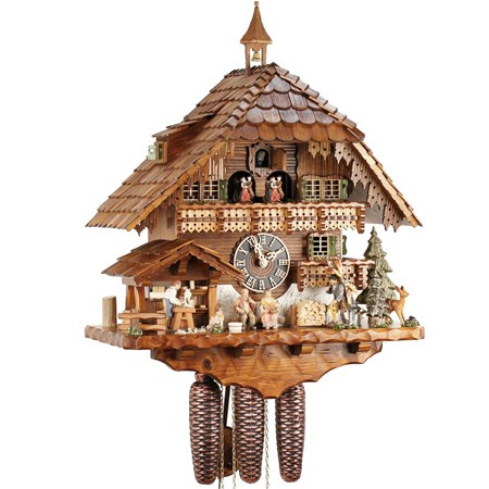 toy pedlar musical cuckoo clock 86732t clocks com au