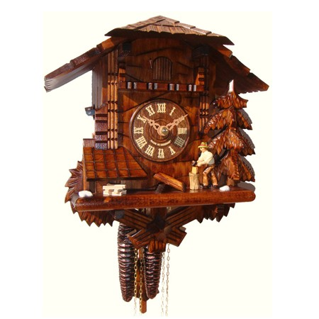 Wood Chopper Cuckoo Clock 435