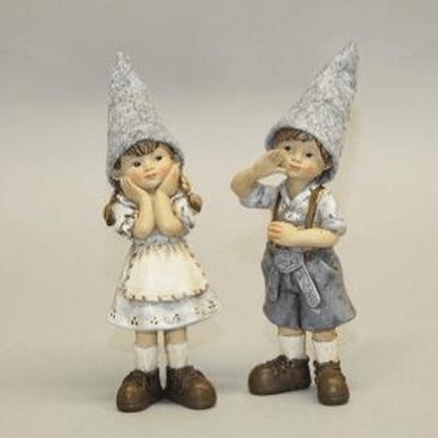 Figurines German Boy Girl