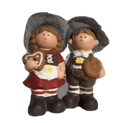 Gingerbread Boy and Girl