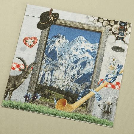 Alpine Serviettes