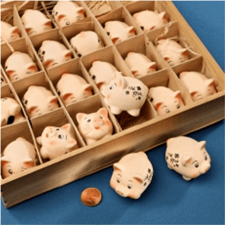 Ceramic Lucky Pig