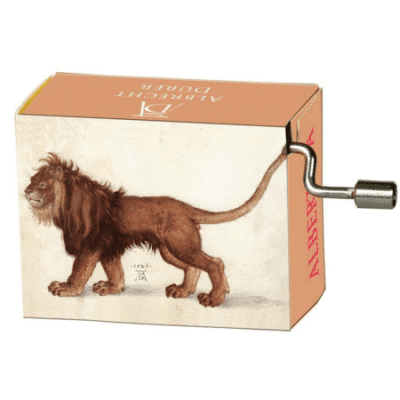 Lion Music Box