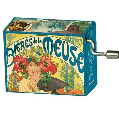 Music box Mucha