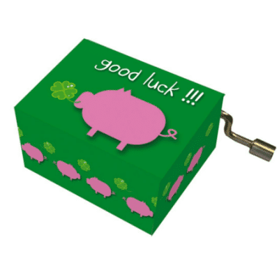Lucky Pig Music Box